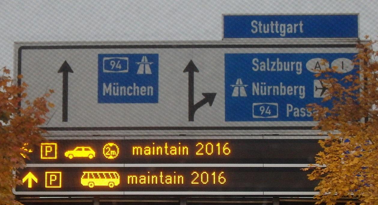 Maintain 2016